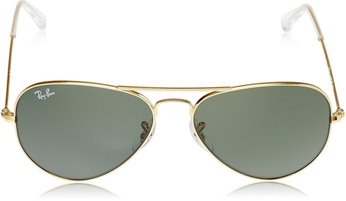 b6b304a4bfb2e Female Ray-Ban Aviator Sunglasses (RB3025 0015 55)