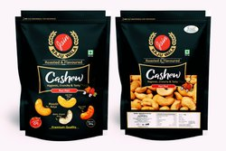 Peri Peri Roasted Flavored Cashew Nuts, Packaging Size: 250gram, Packaging Type: Zip Pouch
