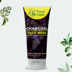 Herbal Charcoal Face Wash, Age Group: Adults