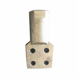 Aluminum Bimetallic Lug, Size: 4 Inches(l)