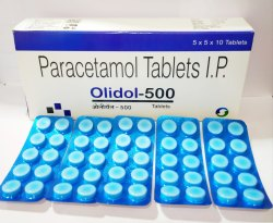 Paracetamol 500 Tablet, Packaging Type: Blister