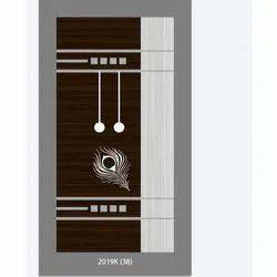 Rectangular Teak Wood Single Panel Wooden Door