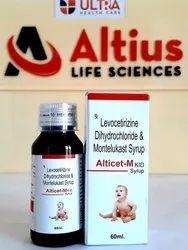 Levocetirizine 2.5mg Montelukast 4mg Susp