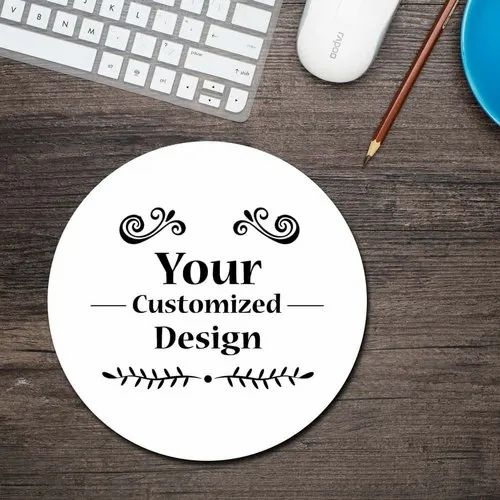 logo design Own Image Custom Printed Round Mouse Pad Personalized Photo