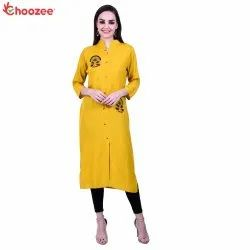 Glory Women Emboidery Straight Kurta