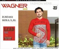 PG Printed Wagner Gold Mens T Shirts