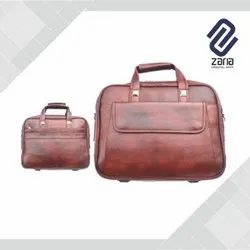 Plain Leather Executive Bag