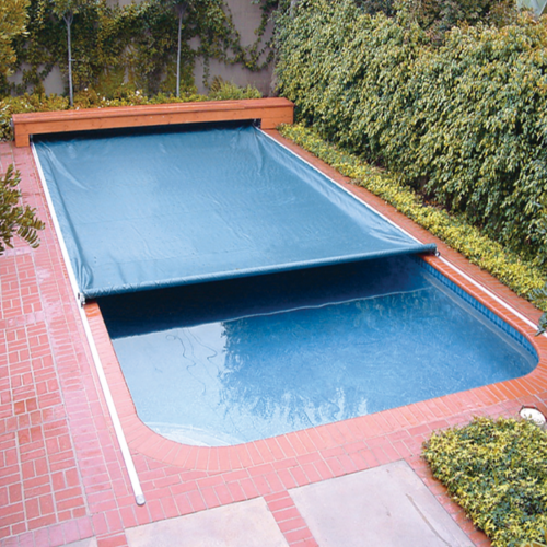 Blue Swimming Pool Cover, Western Outdoor Structures Private Limited ...