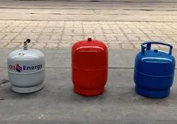 Oil Energy Iron LPG Cylinders 3 Kg, for Gas Storage