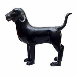 Fiber Dog Statue