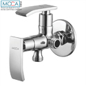 Moca Silver 2 Way Angle Cock With Flange, Size/dimensions: 15m.m