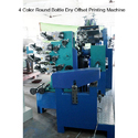 4 Color Round Bottle Dry Offset Printing Machine