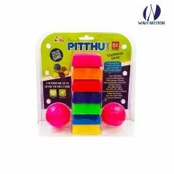Wah Notion Lagori Pitthu Traditional Indian Games Set For Kids (Multi Color)