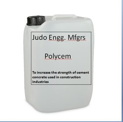 Liquid Polymer Based Cement Concrete Admixture, For Industrial, Packaging Type: Can