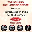 ONTRACK Nose Vent Anti Snoring Device