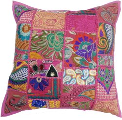 Couch Pillow Cover Case Cushion Khambadiya Cushion Cover