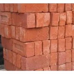 Bricks (Red Clay Construction Bricks), Size: 4 X 9 X 3