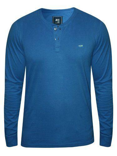 8115131bd Plain Mens Full Sleeve T-Shirt