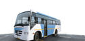 White And Blue Ashok Leyland Chetah Diesel Stage Carrier Bus