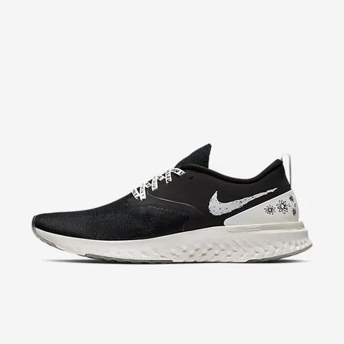 f7571b250a33 Black And White Men Nike Odyssey React Flyknit 2 Nathan Bell Shoe ...