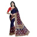 Fancy Georgette Saree with Lace