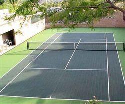 PVC Tennis Court Flooring Service