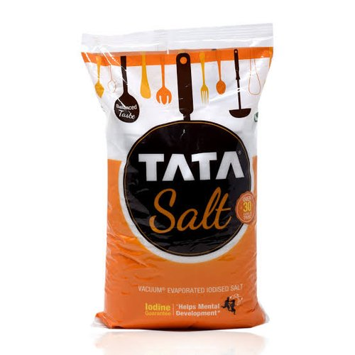 White Crystal 2 Kg Tata Salt, Packaging Type: Plastic Bag