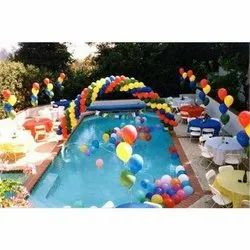 Birthday Pool Party Service