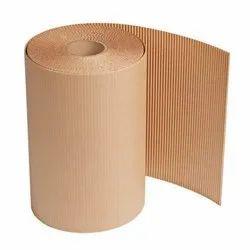 Brown Corrugated Rolls