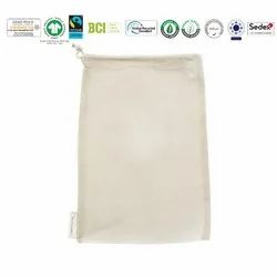Grs Recycle Cotton Pouch Bag