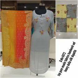 Designer Muslin Suit