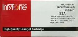 53A (Q7553A) Compatible Toner Cartridge For HP Printers
