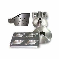 Aluminum CNC Bush Turned Components