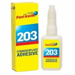 Fevikwik Liquid 203 Instant Adhesives, Packaging Type: Packet