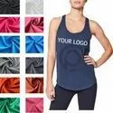 Unisex Tank Top In Polyester Fabric
