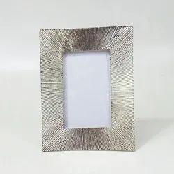 Aluminium Decorative Photo Frame, Size: 20x15 cm