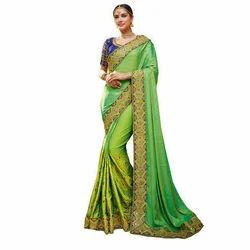 Multicolor Ethnic Saree