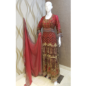 Georgette Hand Work Suit