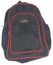 Black Polyester Kids Bag