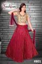 Classy Red Designer Lehenga