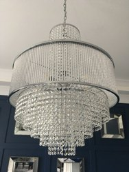 LED Round Crystal Chandelier, For Home Decoration