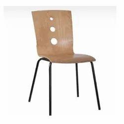 Gajjar Furnitrure Non Rotatable Wooden Vistior Chair, For Office, Warranty: 1 Year