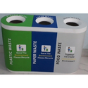 Color Coded Trio Dustbin