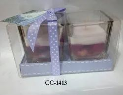 CC-1413 Gel Wax Candle (2 Pc / Pkt)