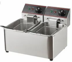 Electric Table Top Fryer (Double )