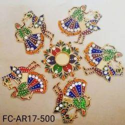 Meenakari Dandia Raas Rangoli (FC-AR17-500)