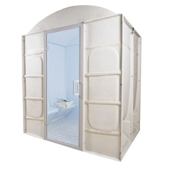 2 Seater Prefabricated Modular Steam Room