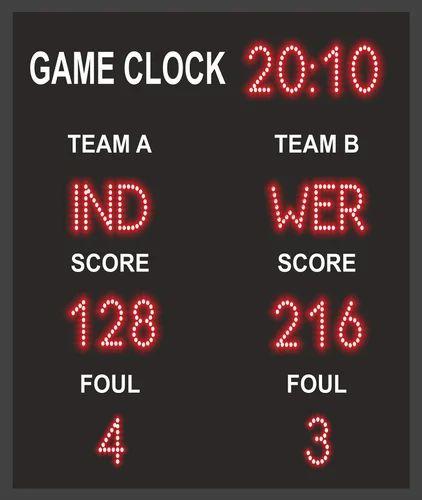 Score Board LED Display | Compucare India Pvt  Ltd  | Manufacturer