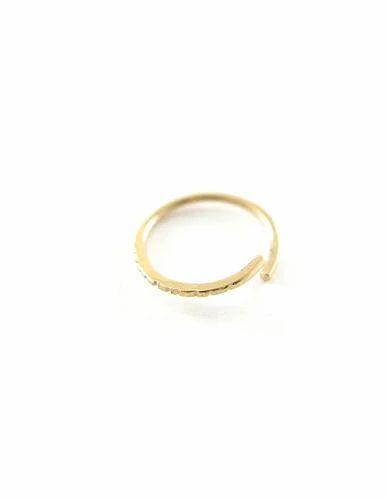 Gold Nose Ring Plain Gold Nose Ring Manufacturer From Mumbai