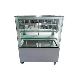 Flat Glass Food Display Counter